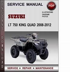 Suzuki King 750 Wiring Diagram suzuki lt 750 king 2008 2012 factory service repair