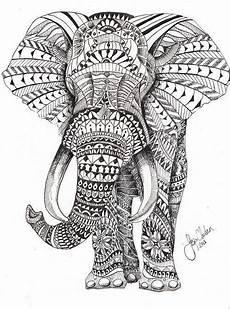 ausmalbilder tiere erwachsene elefant