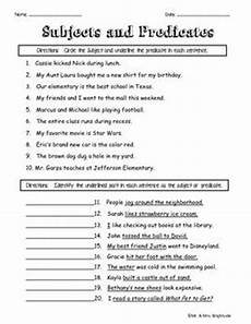 16 best images of sentences and subject predicate worksheets for 3rd identifying subject and