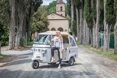 Toskana Italien Mit Dem Tuktuk Durch Das Malerische