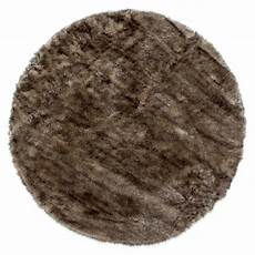 kayoom teppich crown braun durchmesser 160 cm 100