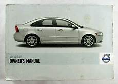 free service manuals online 2008 volvo s40 on board diagnostic system 2008 volvo s40 owners manual book water damage ebay