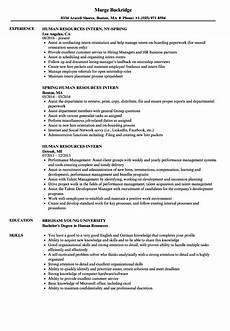 resume human resources intern human resources intern resume sles velvet
