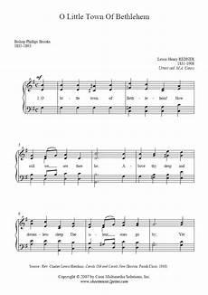 o little town of bethlehem sheetmusic2print com