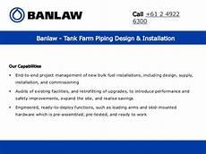 tank farm piping layout pdf banlaw tank farm piping design installation