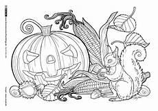 Ausmalbilder Herbst Pdf Als Pdf Durch Das Jahr Herbst K 252 Rbislaterne