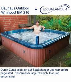 Erfahrung Outdoor Whirlpool Bm 216 Bauhaus Spabalancer