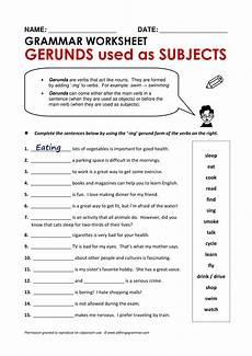 20 gerund exles pdf doc exles