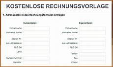20 rechnung schreiben privat muster vorlagen123