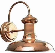 progress lighting brookside 1 light outdoor wall light copper traditional outdoor wall