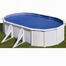 piscine hors sol acier san clara l 5 x l 3 x h 1 2 m