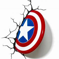 captain america shield 3d deco light energy efficient captain america shield 3d deco light energy efficient