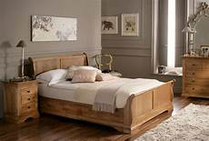Wooden Sleigh Bed Bedroom Ideas by An Extremely Bed Is High Priority In The House