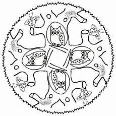 Ausmalbilder Zum Drucken Tier Mandalas Eulen Mandala Tiere 1118 Malvorlage Eule Ausmalbilder