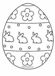 egg template free printable coloring pages patterns color