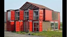Construction Maison Conteneur Des Maisons R 233 Alis 233 Es Avec Des Conteneurs 224 D 233 Couvrir