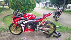 Variasi Cbr 150 by 3 Modifikasi Honda All New Cbr150r Ridergalau