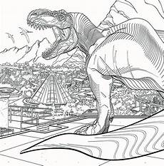 jurassic world coloring pages picture whitesbelfast