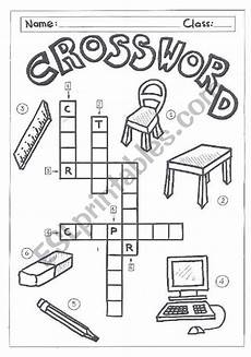 worksheets classroom objects 18220 crossword classroom objects esl worksheet by quietman