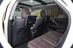 2016 Lexus RX350 Interior Noble Brown Sapele Wood 7