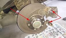 bremsbel 228 ge und bremsscheibe hinten wechseln seat vw