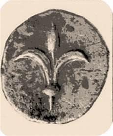 antica moneta persiana origine giudaica dell araldica