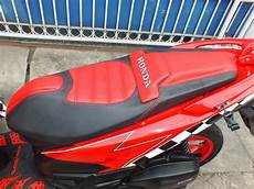 Jok Modifikasi by Modifikasi Jok Motor Jok Honda Vario 150 Modif Model
