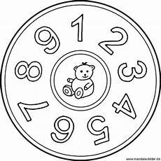 Mandala Malvorlagen Mit Zahlen Zahlen Mandala Mit Den Zahlen Eins Bis Neun Zahlenbild