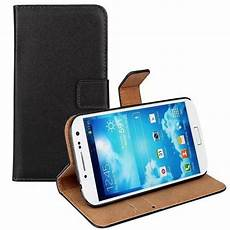 mobile cover for samsung black leather wallet flip mobile phone cover for