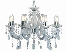 searchlight marie therese 2 light wall light chrome finish with crystal glass droplets 399 2