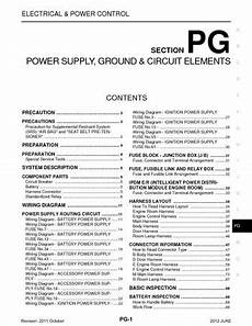 2012 nissan juke fuse box 2012 nissan juke power supply ground circuit elements section pg pdf manual 97 pages