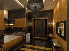 Bathroom Ideas Gold by 31 Black And Gold Bathroom Tiles Ideas And Pictures