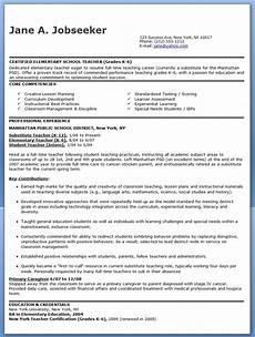 elementary school teacher resume sles free resume downloads