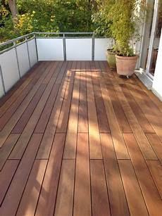 Balkon Mit Ipe Holz Wood Lounge