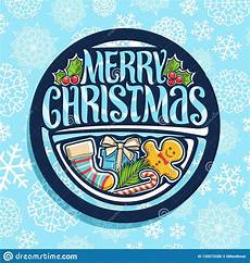 vector logo for merry christmas stock vector illustration of cookies festive 130073286