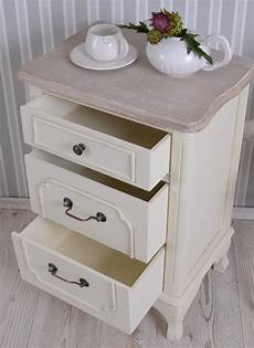 Console De Nuit Ancien Armoire Shabby Chic Commode Table