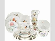 Lenox Butterfly Meadow 28 piece Porcelain Dinnerware Set