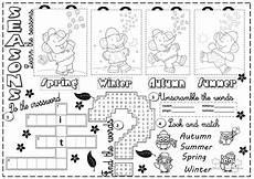 seasons exercises worksheets 14790 seasons worksheet free esl printable worksheets made by teachers