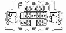 nissan note 2004 2013 fuse box diagram auto genius