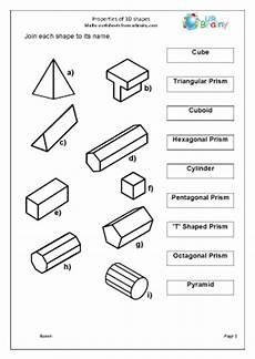 shapes worksheets ks2 1153 3d shapes homework ks2