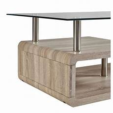 table basse verre rectangulaire table basse contemporaine rectangulaire bois verre hector