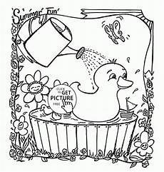summer colouring pages printable 17636 free preschool summer coloring pages coloring home