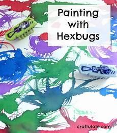 worksheets for kindergarteners 15601 painting with hexbugs a robotic activity preschool activities activities