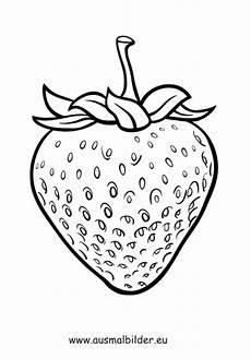 ausmalbild erdbeere kostenlos ausdrucken