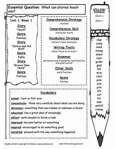 guided writing worksheets for grade 3 22911 third grade mcgrawhill wonders unit one week one weekly outline wonders reading program