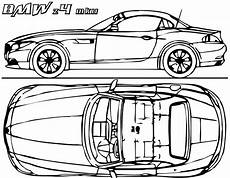 bmw concept car coloring page coloring book