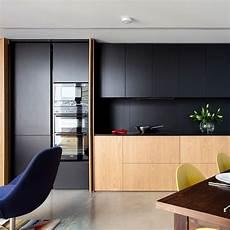 Black Kitchen - 2019 kitchen trends inspiration woodpecker flooring