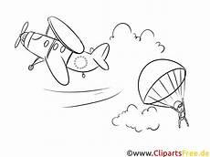 fallschirmspringer ausmalbild zum ausdrucken bild gratis