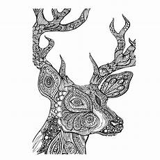 digi tizers zentangle deer svg studio v3 jpg