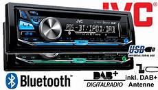 autoradio mit dab jvc kd db97bt dab digitalradio bluetooth usb autoradio